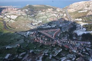 Santullán. Imagen aerea