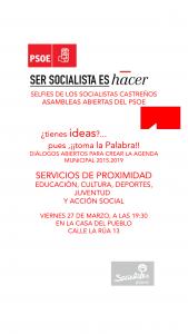 Selfie PSOE Servicios Proximidad 27-03