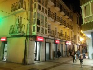 Trasera Banco Santander La Mar