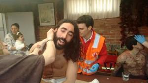Asistencia Cruz Roja a Cristo y ladrones (1)