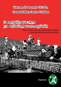 Charla 'Represión' Roberto el Pirata