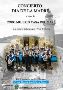 Coro Mujeres Casa del Mar. Concierto Dia Madre