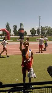 Anxo Martin Oro en Campeonato de España de Federaciones