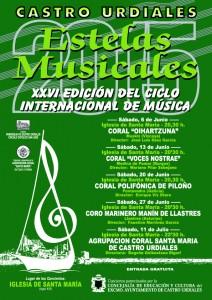 Estelas Musicales Coral Sta Maria 2015