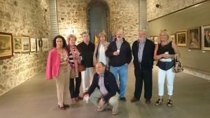 Expo Pintores Castreños Faro. Inauguración