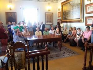 Pleno constitución Juntas. Público