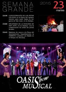Programa Fiestas Semana Grande 2015 (7)