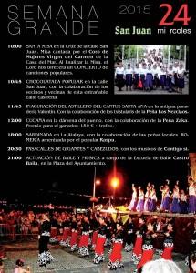 Programa Fiestas Semana Grande 2015 (9)