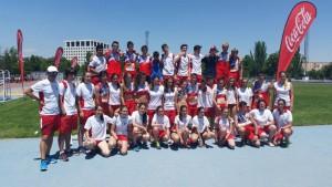 Selección Cantabria en Campeonato de España de Federaciones