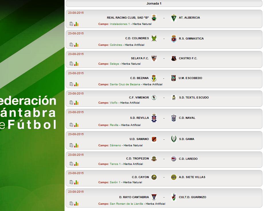Calendario Tercera Division.Ya Se Conoce El Calendario De Tercera Division De Futbol Los Derbis