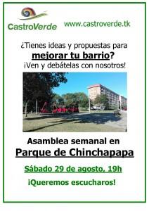Castro Verde. Reunión en Chichapapa