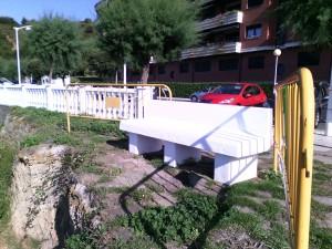 Banco acotado en Parque Cotolino (2)