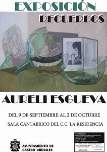 Expo Aureli Esgueva. Cartel
