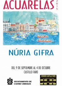 Expo Nuria Grifa. Cartel