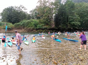 Regata Base Kayak Santos Mártires de Unquera (2)
