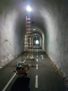Reparadas luces Tunel Mioño (1)