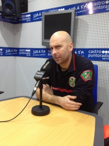 Rubén Pérez Diego en PR tras accidente