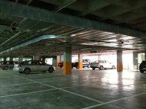 Abierta 2ª planta Parking