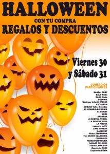 Cartel Halloween Comercios Nov. 2015