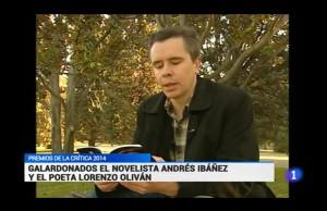Lorenzo Olivan Premio Nacional TVE