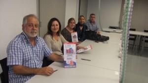 Reunión CCOO en Castro Riesgos Laborales