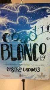Cartel Coso Blanco 2016