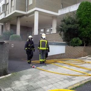 Incendio en garaje 1º de Mayo (5)