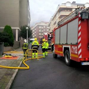 Incendio en garaje 1º de Mayo (7)