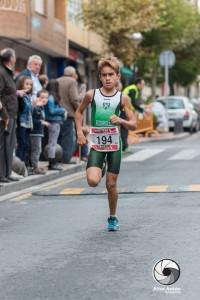 Mario Rodriguez Iñigo Alevín Triatlon