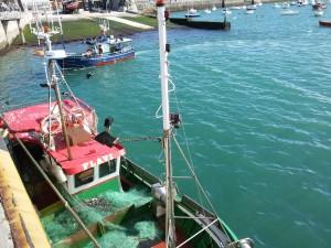 Barcos en Puerto Castro (1)