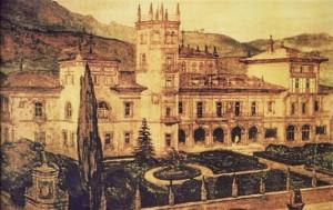 Proyecto de Palacio en Santander 1910 Leonardo Rucabado