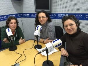 Agility Salvé. Beatriz Barcina, Leire de la Nava y Lupe González