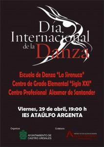 Día Internacional de la Danza 2016. Cartel