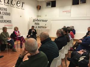Visita Eva Tezanos a Sede PSOE (3)