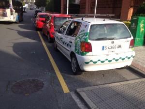 Agresión coche Dpto Urbanismo (1)