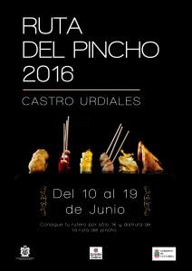 Cartel Ruta del Pincho 2016