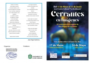 Expo Cervantes Amigos de la Pintura. Folleto (1)