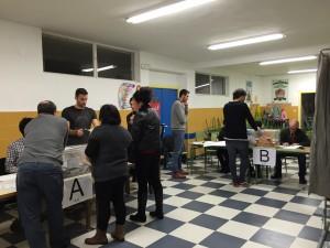 Inicio Escrutinio Mesa Elecciones Castro