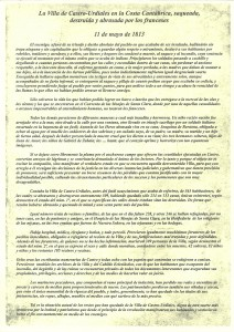 Manifiesto Acto Francesada 2016