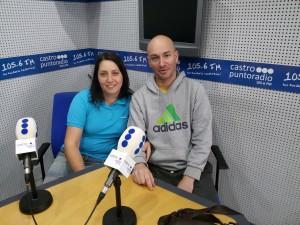 Virginia Fernández y Sergio Corrales CASCA en PR