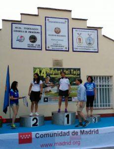 Ana González 1ª en Media Maratón Aranjuez