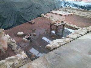 Inundación Centro Interpretación Flaviobriga (1)