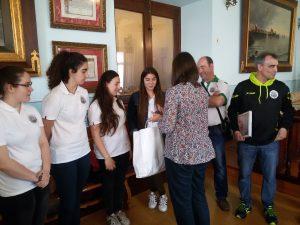 Recepción BM Los Chelines con Consejero (3)