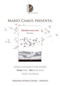 Charla-coloquio Mario Camus. Ateneo