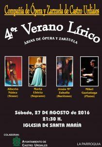 Concierto Cia. Opera y Zarzuela