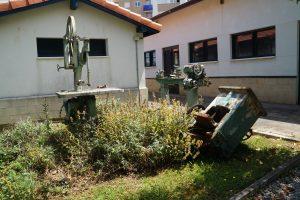 Destrozos en el Chorrillo (Maquinaria ETC)