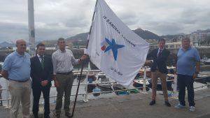 Presentación Bandera Caixabank ACT en Castro (2)