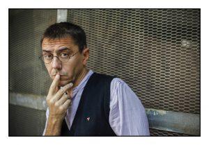 Juan Carlos Monedero fotografiado por Sergio Enriquez-Nistal