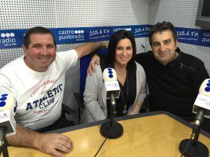 Miembros Peña Lazur en PR De Marcos y Garazi