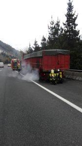 Camión frenos quemados Tunel Islares (2)